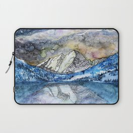 The Maroon Bells Meets  the Sky Laptop Sleeve