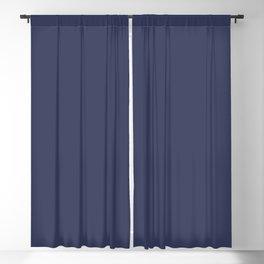 Hue - Patriot Blue Blackout Curtain