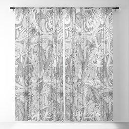 PHO BW Sheer Curtain