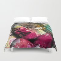 monroe Duvet Covers featuring marilyn by mark ashkenazi