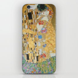 Famous kiss3 iPhone Skin
