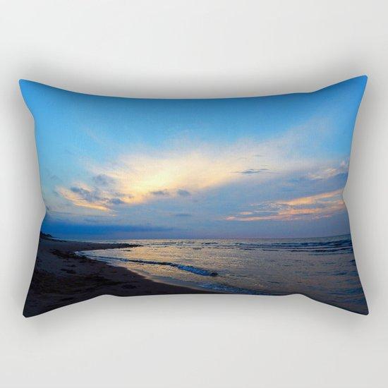 PEI Beach Sunset Rectangular Pillow
