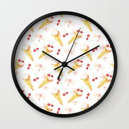 Dragonfly Chill Wall Clock