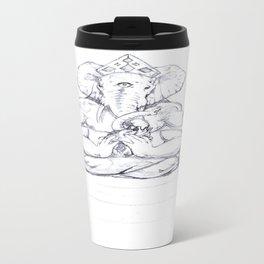Ganesha Metal Travel Mug