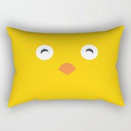 Yellow Chick Rectangular Pillow