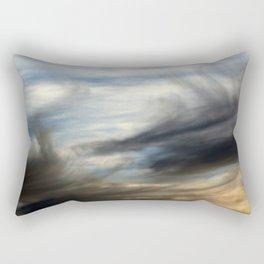 Stormy Cloudy Sky Abstract Rectangular Pillow
