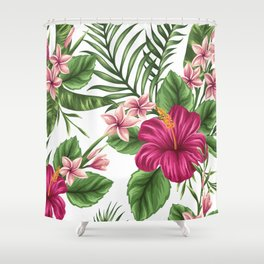 FLORAL PATTERN 9 Shower Curtain