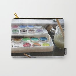 Watercolor Paint Palette Carry-All Pouch
