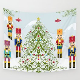 Nutcrackers choir Wall Tapestry