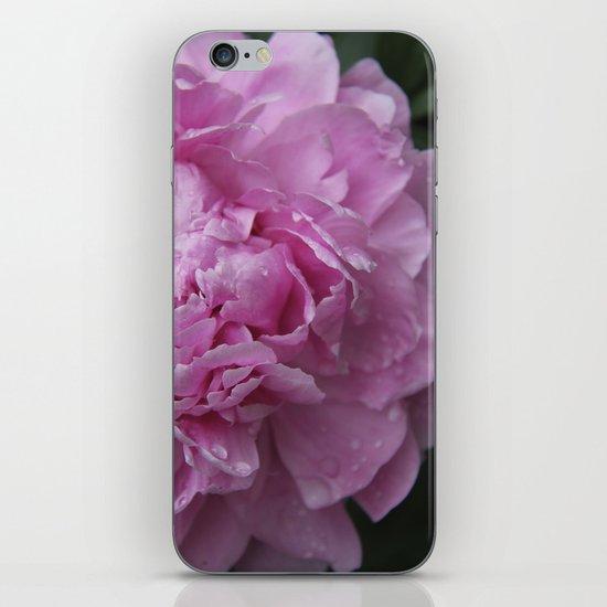 Pink Peony II iPhone Skin