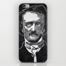 Writer of The Raven: Edgar Allan Poe iPhone Skin