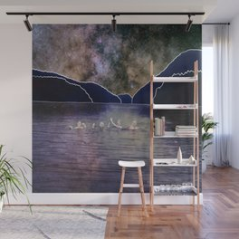 The water's great Wall Mural