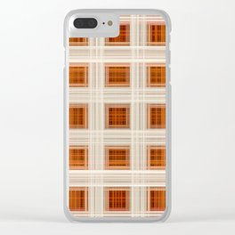 Ambient 11 Squares Clear iPhone Case
