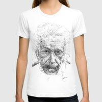 einstein T-shirts featuring Einstein by Les Joanneries & Jacques Lajeunesse