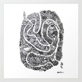 Plan A Art Print