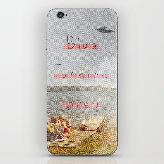 Blue Turning Grey | Collage iPhone & iPod Skin