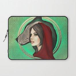 Wolf Girl Laptop Sleeve
