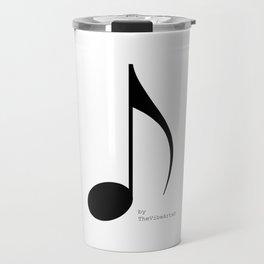 TheVibeArts music is life Travel Mug