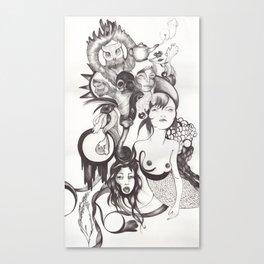 Imaginación Canvas Print
