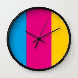 modern stripes Wall Clock
