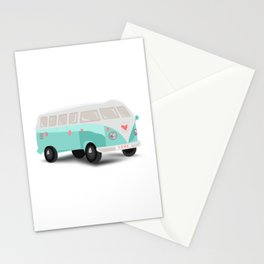 Mint bus Stationery Cards