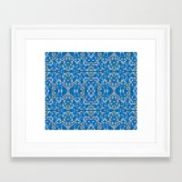 mosaic Framed Art Prints featuring mosaic by PureVintageLove