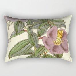 Osbeckia aspera, Melastomataceae Rectangular Pillow