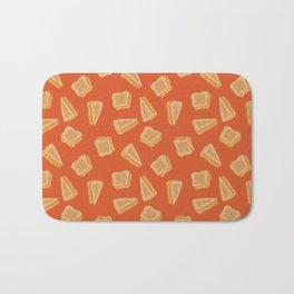 Grilled Cheese Print Bath Mat