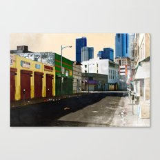 Urban Brutality  Canvas Print