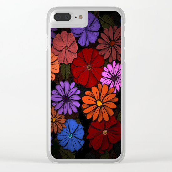 Abstract #420 Clear iPhone Case
