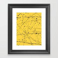 Dazed + Confused [Yellow] Framed Art Print