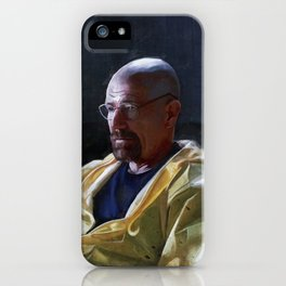 Walter White and Jesse Having A Beer After A Long Day's Work - Breaking Bad iPhone Case
