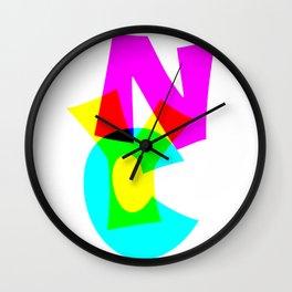 MYC Wall Clock