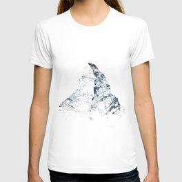 MATTERHORN MOUNTAINSPLASH grey T-shirt