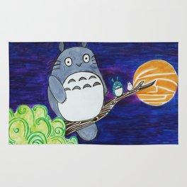 Midnight Totoro Rug