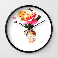 decorative Wall Clocks featuring Decorative by Vitta