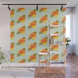 Fruit Series: Oranges version 3 Wall Mural