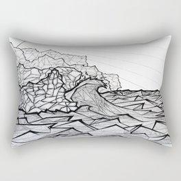 Ne Pali Coast Rectangular Pillow