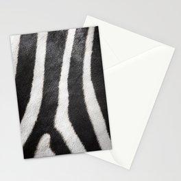 Zebra strips Stationery Cards