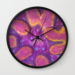 Rainbow Lobophyllia (Lobo Symphyllia Coral) Wall Clock