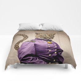 Grand Viceroy Leopold Leopard Comforters