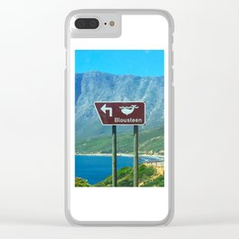 Blousteen Clear iPhone Case