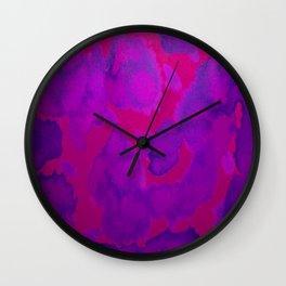 Pink Purple Wall Clock