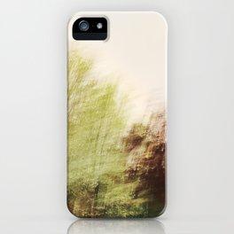 Trees in a dream iPhone Case