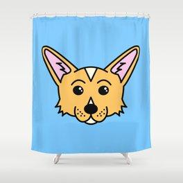 Bondi The Corgi Shower Curtain