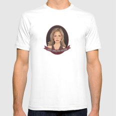 Buffy Summers - Once More with Feeling MEDIUM White Mens Fitted Tee