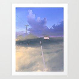 Clouded Mind Art Print