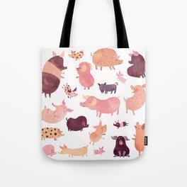Pig Pig Pig Tote Bag