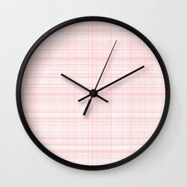 Pink soft classy Wall Clock