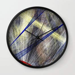 Ink Explosion  Wall Clock